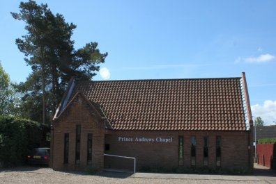Chapel building from the outside